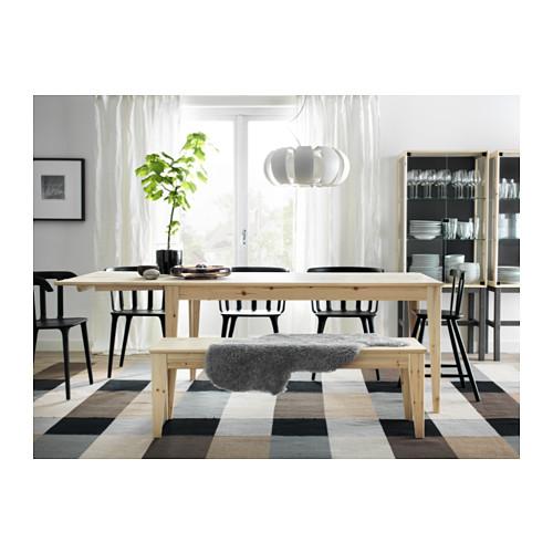 Mesa de madera maciza serie nornÄs de ikea