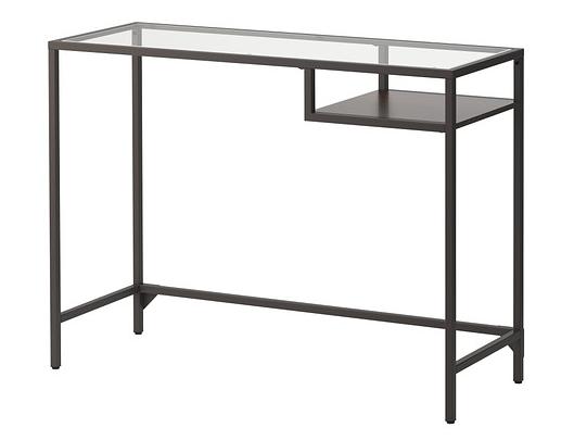 mesa de vidrio templado