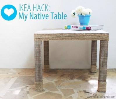 renovar mesa lack con cuerda