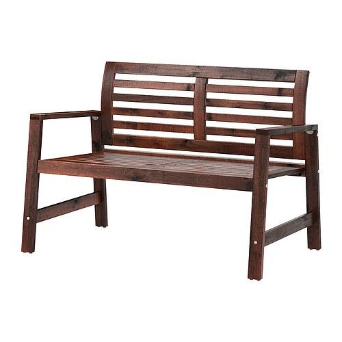 sofa de madera