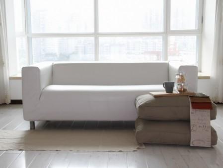 sofas de ikea en blanco