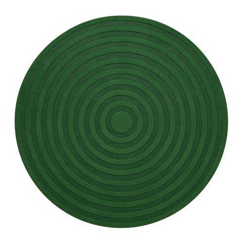 Alfombras redondas para decorar con colorido for Alfombras redondas ikea