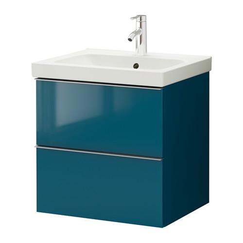 Armarios Para Lavabos Baño:High Gloss Turquoise IKEA Kitchen
