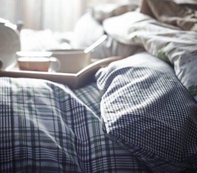 cama acogedora IKEA