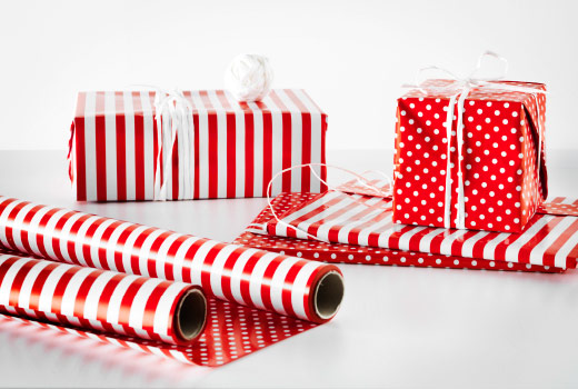 papel de regalo de navidad ikea