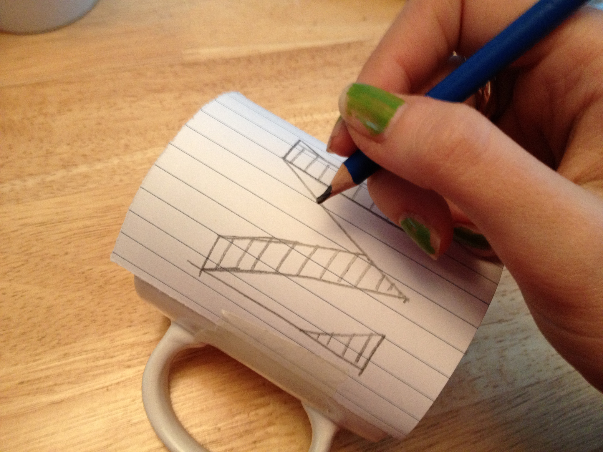 Cómo decorar tazas de IKEA 6