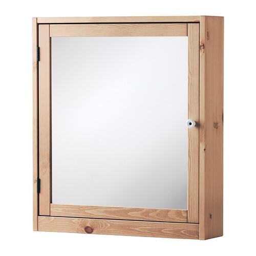 armario de espejo de madera