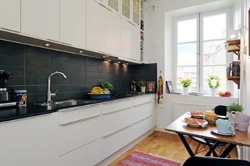 cocinas estilo escandinavo
