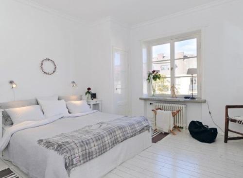 dormitorio estilo escandinavo