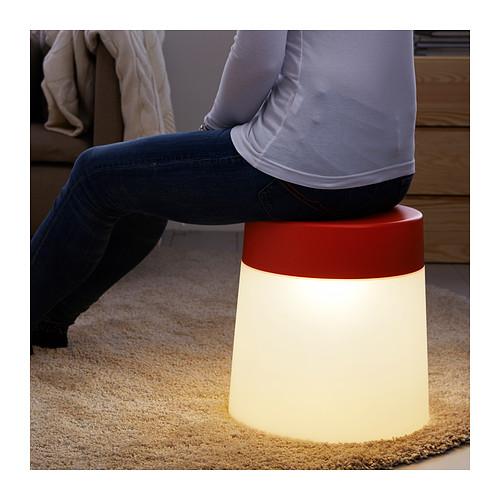 lampara taburete