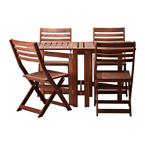 Ikea Conjunto De Mesa Y Sillas.Sillas Y Mesas De Exterior Applaro