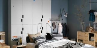 alfombra para dormitorio nórdico