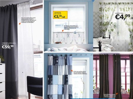 cortinas para dormitorios nórdicos