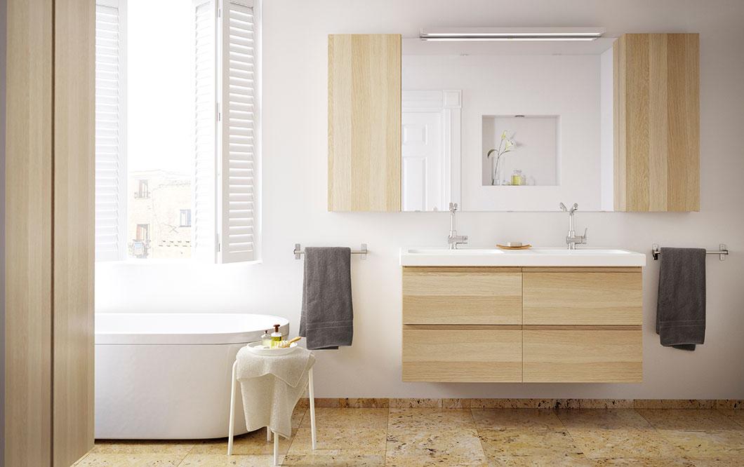 Ideas para decorar tu cuarto de baño con Ikea