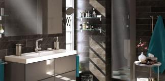 baño en gris