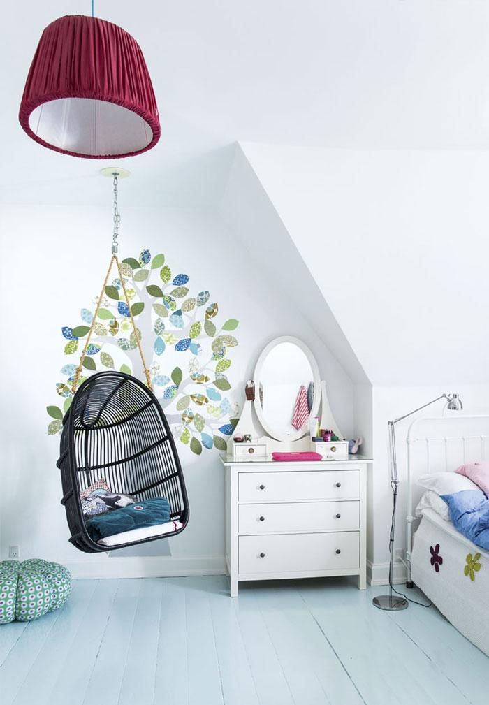 dormitorio de diseño nórdico