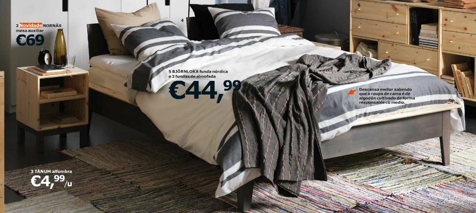 dormitorio en color gris y blanco