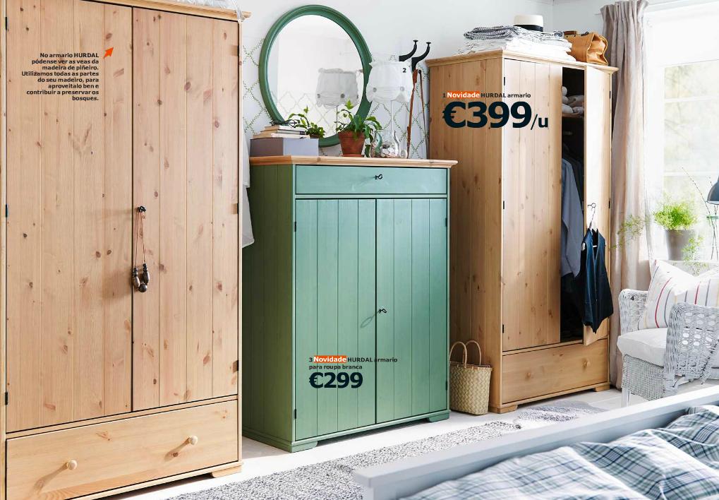 armarios en madera de IKEA