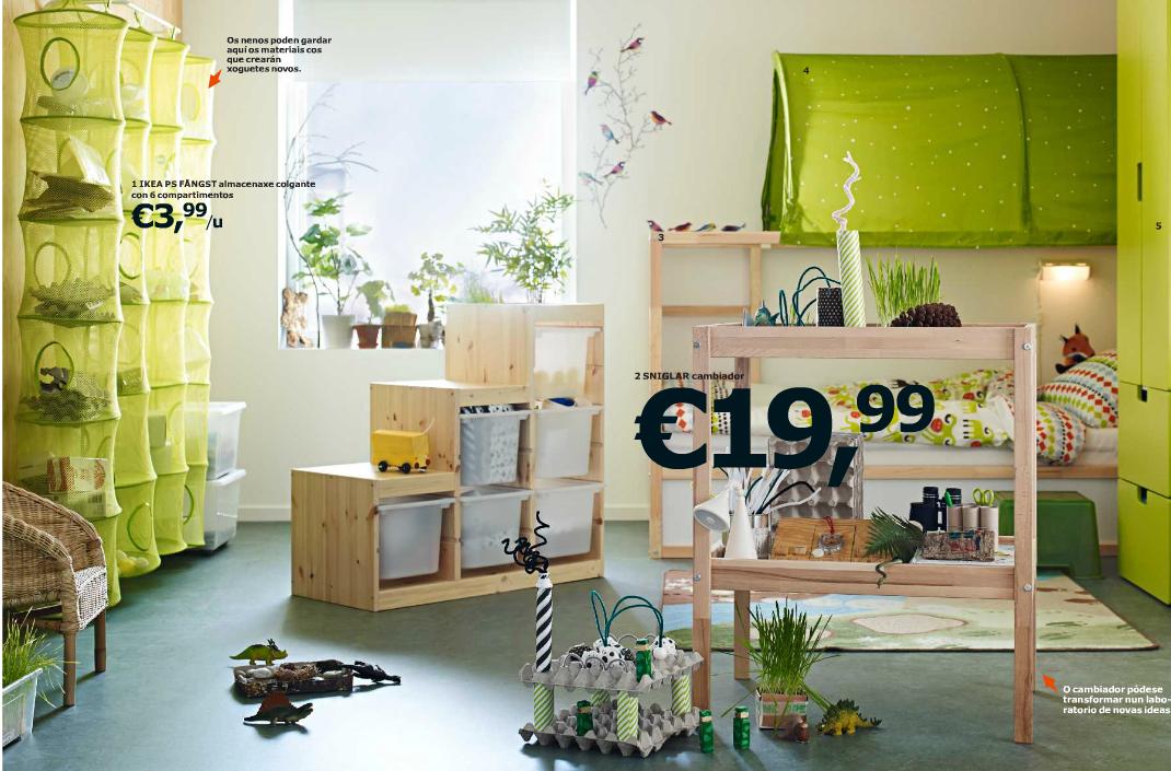 dormitorio en color verde