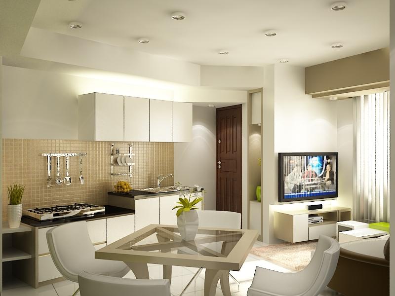 apartamento en color blanco de estilo nórdico