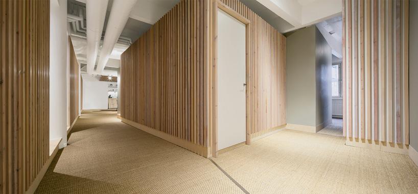 piso de estilo nórdico