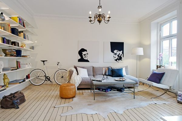 salones de estilo escandinavo