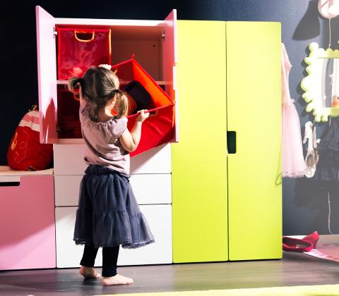 armario para niños