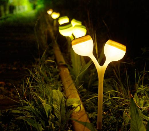 lamparas para jardin