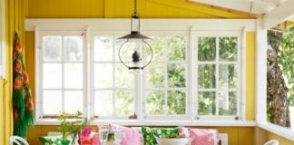 salon decorado al estilo sueco con colores
