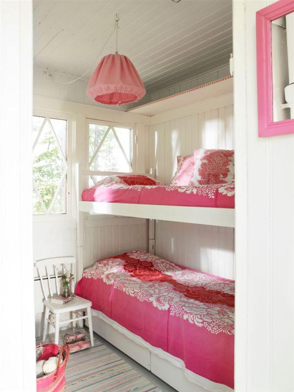 dormitorio en color rosa