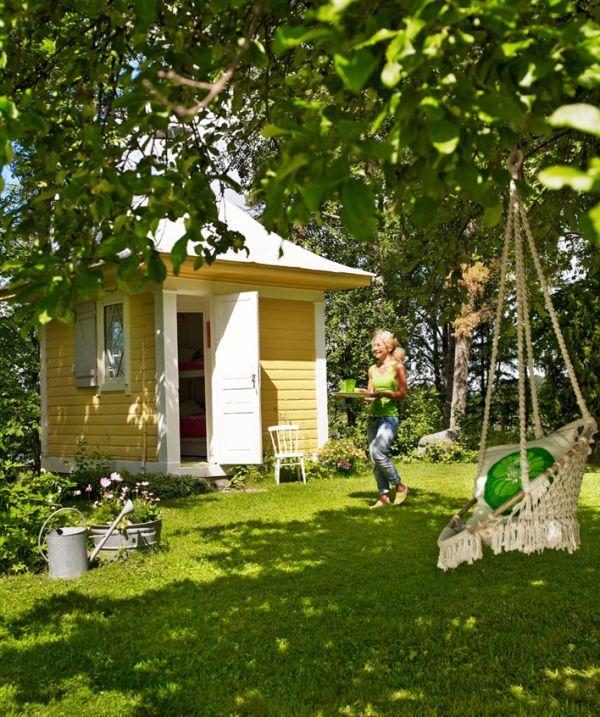 exterior de una casa de verano