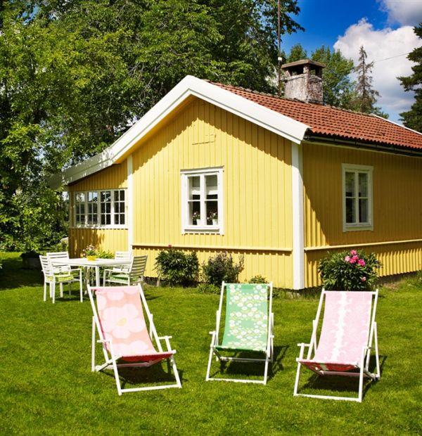 casa de verano de estilo sueco