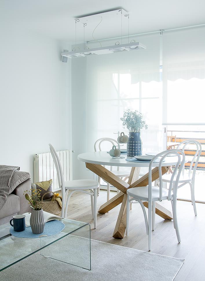 piso decorado de estilo nordico