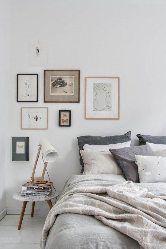 ideas fotos pared Ideas Para Crear Galeras De Pared Muy Decorativas
