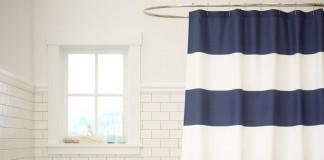 bañera con cortina