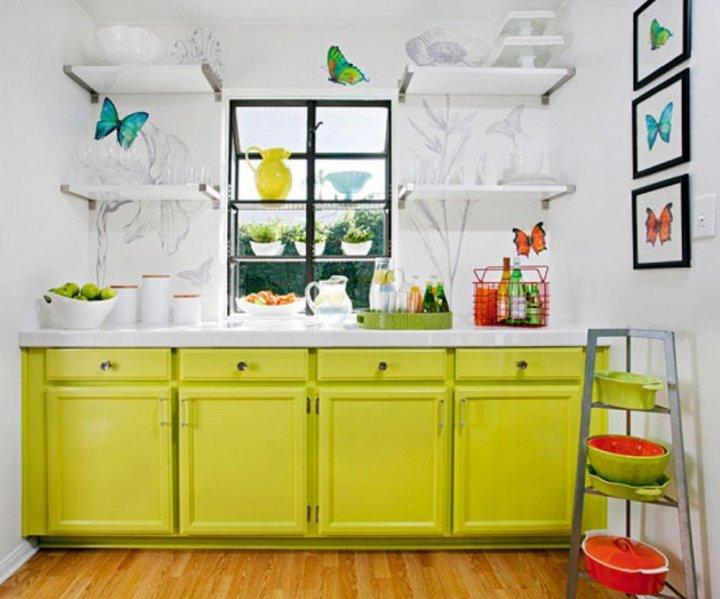 cocina de color