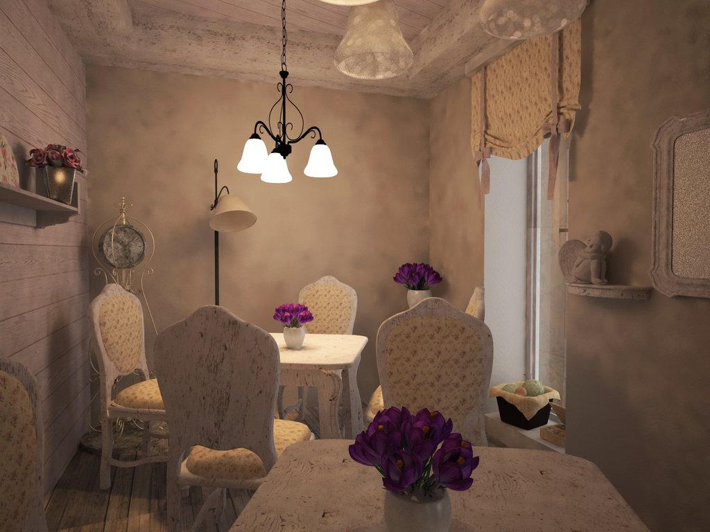 romántico restaurante