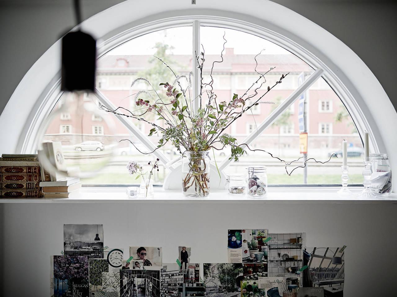 ventana semi circular