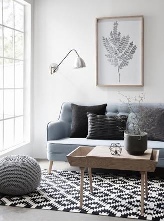 salón de estilo danés