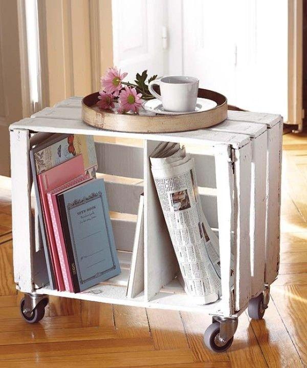 mesa auxiliar de madera