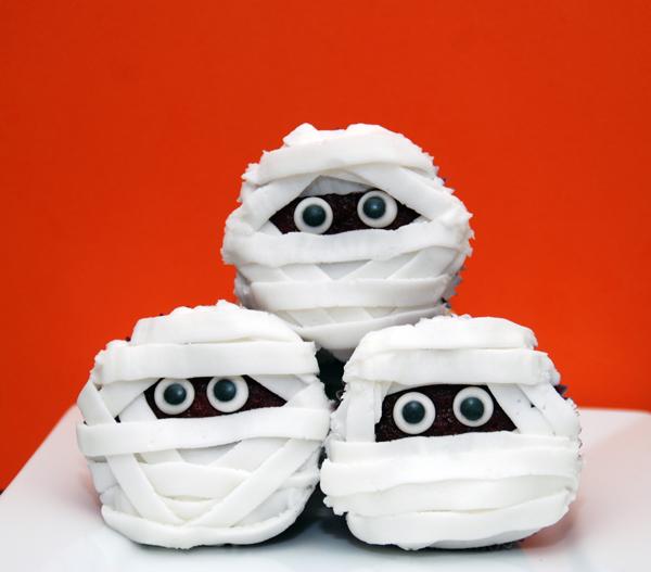 cucpakes de momia