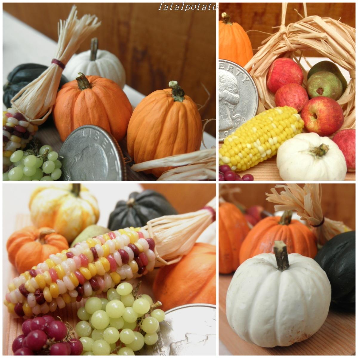 hortalizas y frutas de temporada