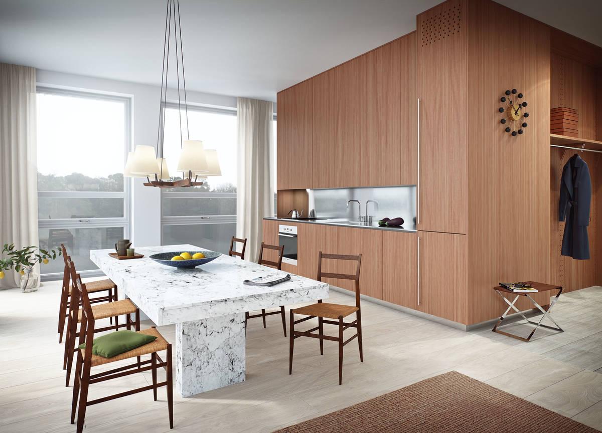 cocina y vestidor