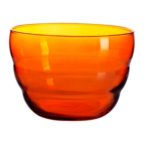 ensaladera de color naranja de ikea