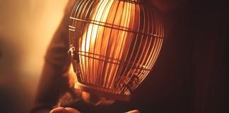 lámpara o portavelas