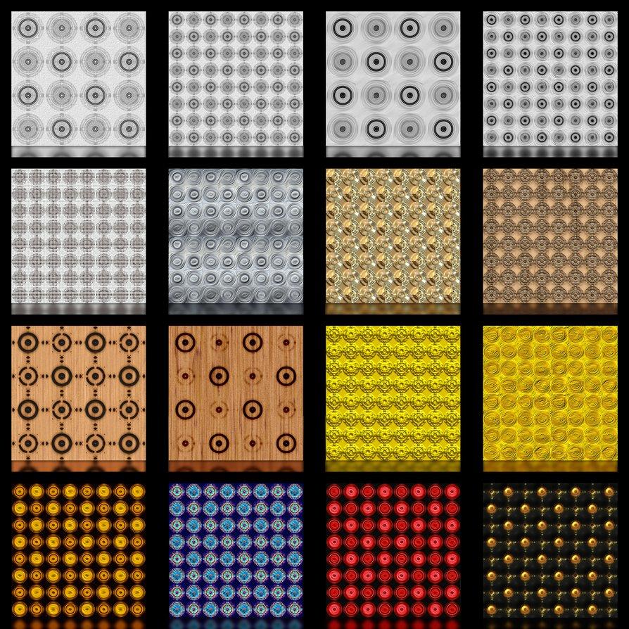 ejemplos de patrones y estampados