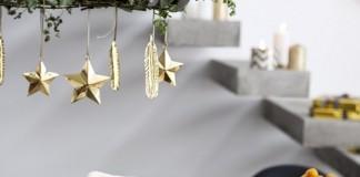 Vajillas navideñas de estilo nórdico