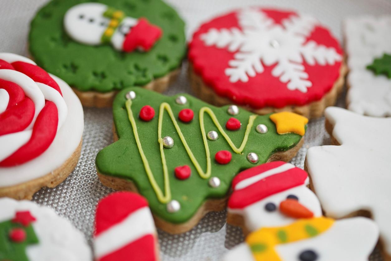 moldes para galletas de Navidad