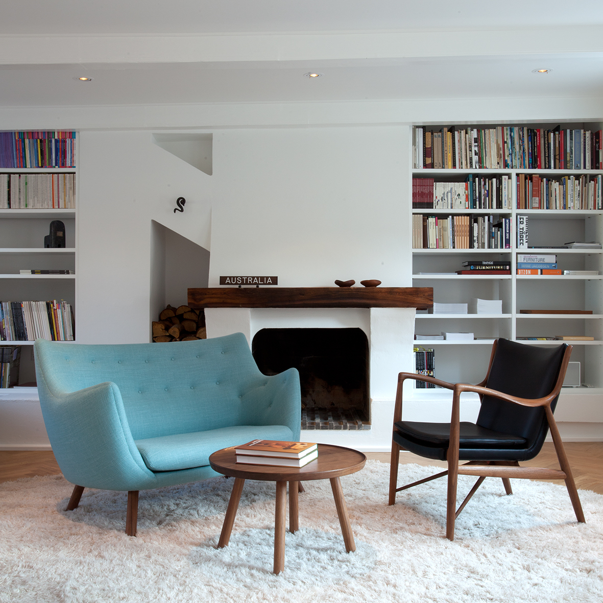 muebles de diseno nordico poet sofa