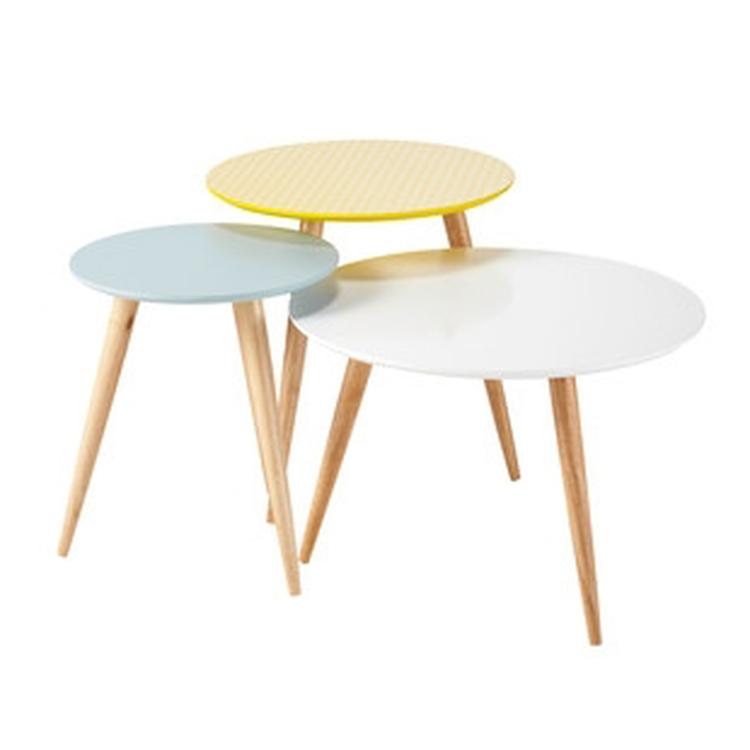 muebles de diseno nordico trio mesas